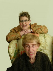 Priscilla and Ronne Kurlancheek. Two generations of furniture expertise.